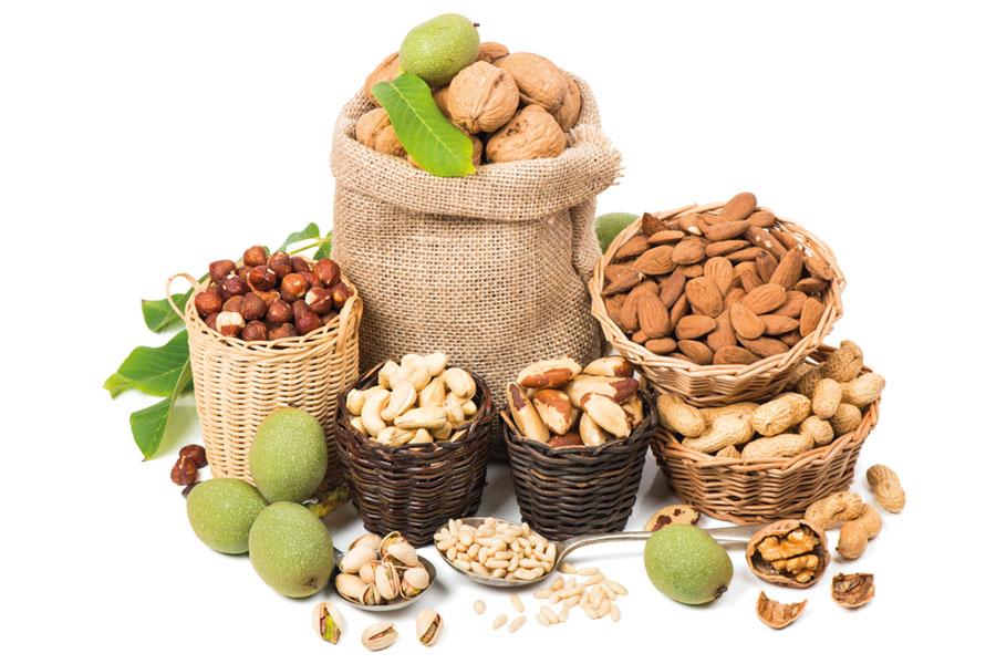 pieffe-ingredienti-decorazioni-frutta-secca-cioccolato-principale